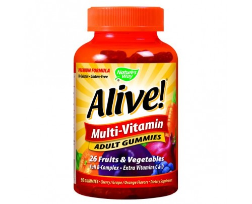 Nature's Way Alive! Adult Multivitamin Gummy 90 Gummies