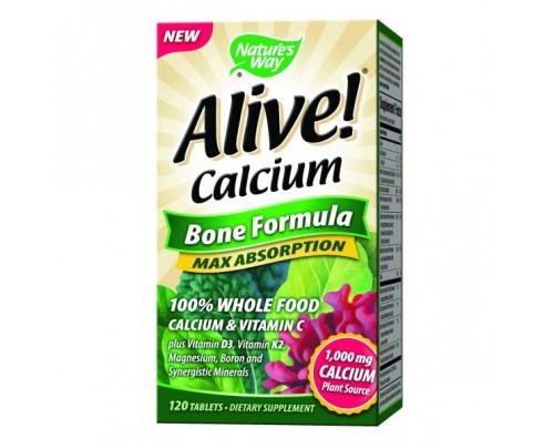 Nature's Way Alive Calcium Bone Formula 120 Tablets