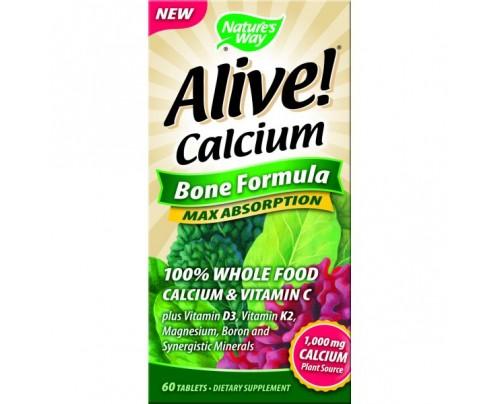 Nature's Way Alive Calcium Bone Formula 60 Tablets