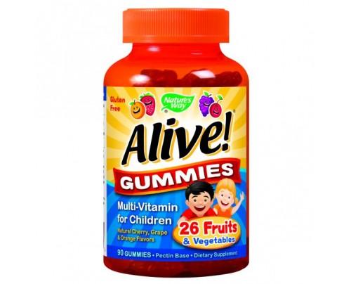 Nature's Way Alive! Children's Gummy Multivitamin 90 Gummies