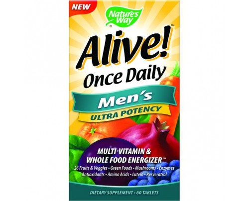 Nature's Way Alive! Once Daily Men's Ultra 60 Tablets