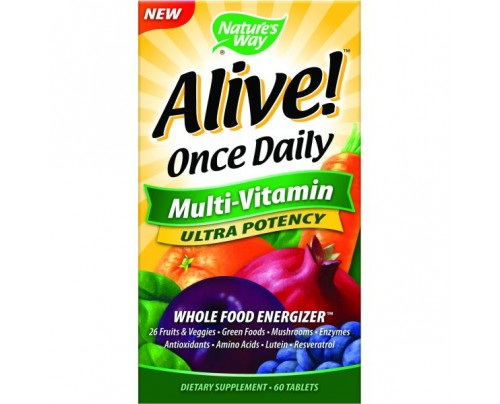 Nature's Way Alive! Once Daily Ultra 60 Tablets