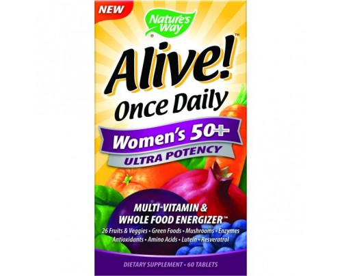 Nature's Way Alive! Once Daily Women's 50+ Ultra 60 Tablets