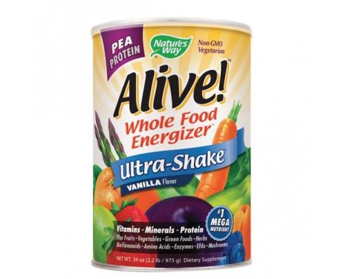 Nature's Way Alive! Pea Protein Shake Powder Vanilla 2.2 lb