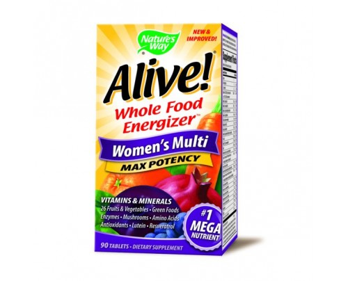 Nature's Way Alive! Womens 90 Tablets