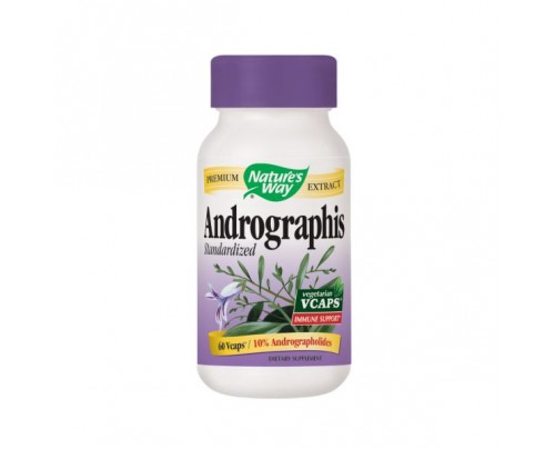 Nature's Way Andrographis Standardized Extract 400mg 60 Vegetarian Capsules