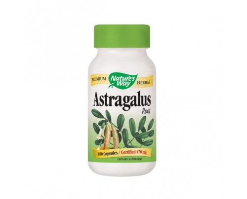 Nature's Way Astragalus Root 470mg 100 Capsules