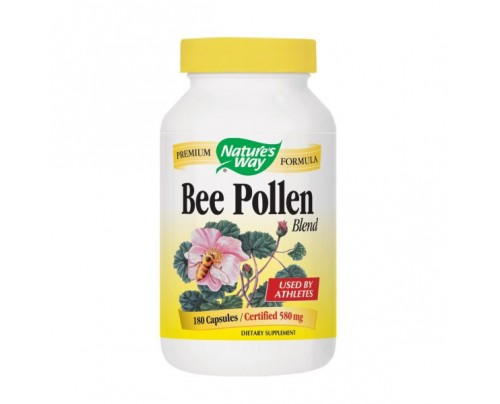 Nature's Way Bee Pollen Blend 580mg 180 Capsules