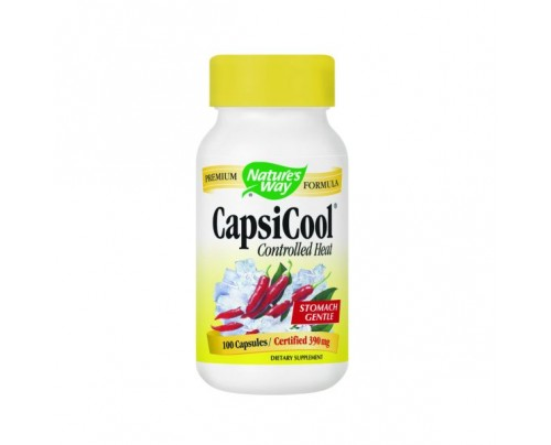 Nature's Way CapsiCool Controlled Heat Cayenne 390mg 100 Capsules