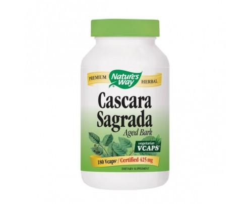 Nature's Way Cascara Sagrada Aged Bark 425mg 180 Capsules