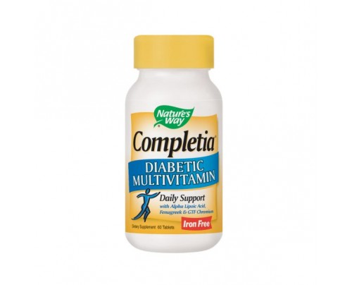 Nature's Way Completia Diabetic Multivitamin 60 Tablets
