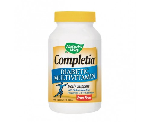 Nature's Way Completia Diabetic Multivitamin 90 Tablets