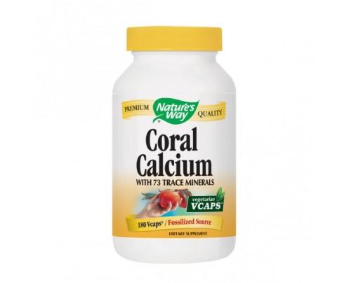 Nature's Way Coral Calcium 200mg 180 Vegetarian Capsules