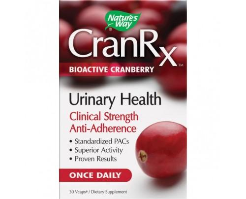 Nature's Way CranRX Urinary Health 500mg 30 Vegetarian Capsules