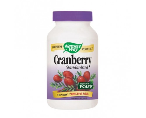 Nature's Way Cranberry Standardized Extract 400mg 120 Vegetarian Capsules