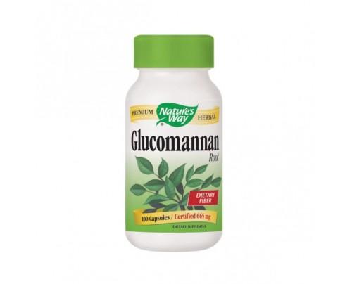 Nature's Way Glucomannan Konjac Root 663mg 100 Capsules
