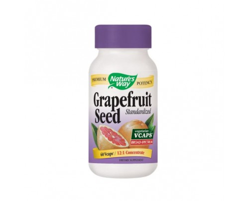 Nature's Way Grapefruit Seed Standardized Concentrate 250mg 60 Vegetarian Capsules