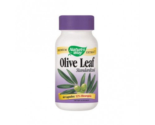 Nature's Way Olive Leaf Standardized Extract 430mg 60 Capsules