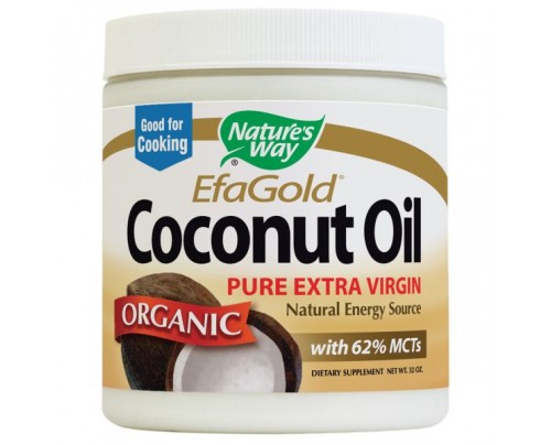 Nature's Way EfaGold Organic Extra Virgin Coconut Oil 32 fl. oz.