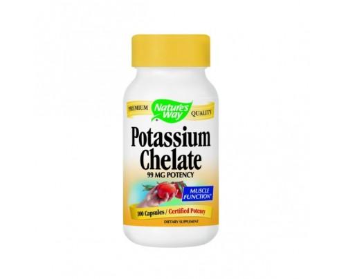 Nature's Way Potassium 99mg 100 Capsules