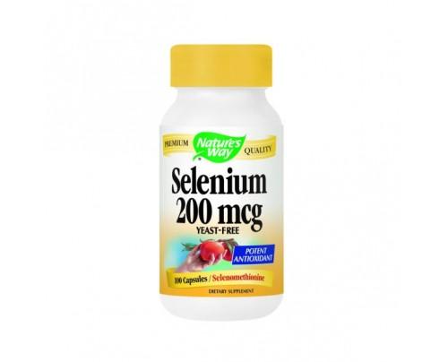 Nature's Way Selenium 200mcg 100 Capsules