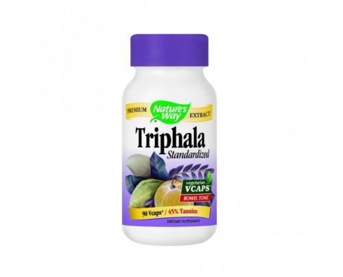 Nature's Way Triphala Standardized 500mg 90 Vegetarian Capsules