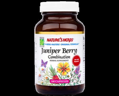 Nature's Herbs Juniper Berry Combination 410mg 100 Capsules