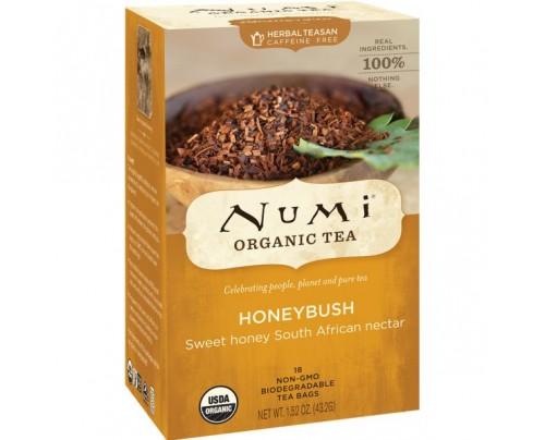 Numi Organic Tea Honeybush Tea 18 Tea Bags