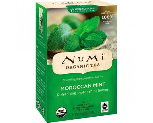 Numi Organic Tea Moraccan Mint Tea 18 Tea Bags