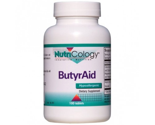Nutricology ButyrAid 100 Tablets