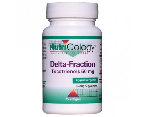 Nutricology Delta Fraction Tocotrienols 50 mg 75 Vegetarian Capsules