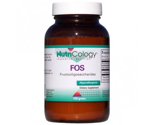 Nutricology FOS Fructooligosaccharides Powder 3.53oz.