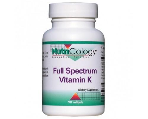 Nutricology Full Spectrum Vitamin K 90 Softgels