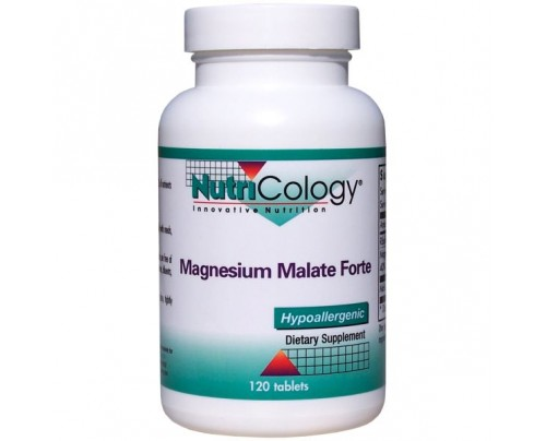 Nutricology Magnesium Malate Forte 120 Tablets