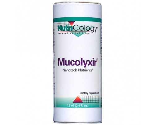 Nutricology Mucolyxir Nanotech Nutrients 0.4oz.