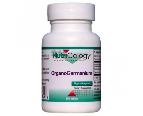 Nutricology Organic Germanium 100 Tablets