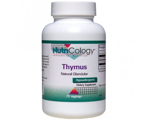 Nutricology Thymus 500 mg 75 Capsules