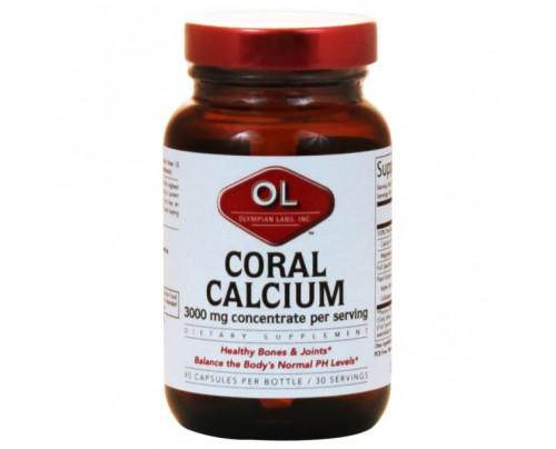 Olympian Labs Coral Calcium 1,000mg per Serving 90 Capsules