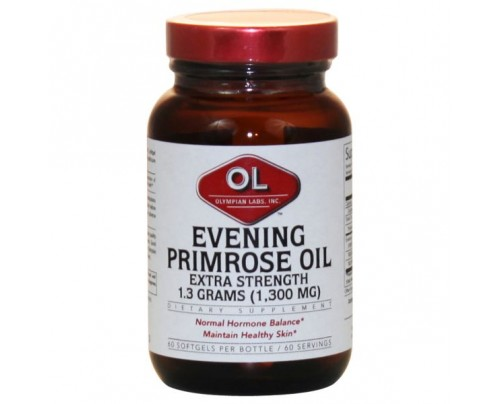 Olympian Labs Evening Primrose Oil 1,300mg 60 Softgels