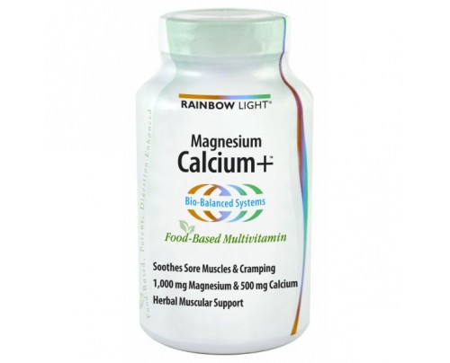 Rainbow Light Calcium Plus with Magnesium 90 Tablets