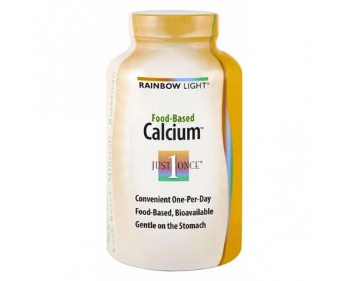 Rainbow Light Food Based Calcium 500mg 180 Tablets
