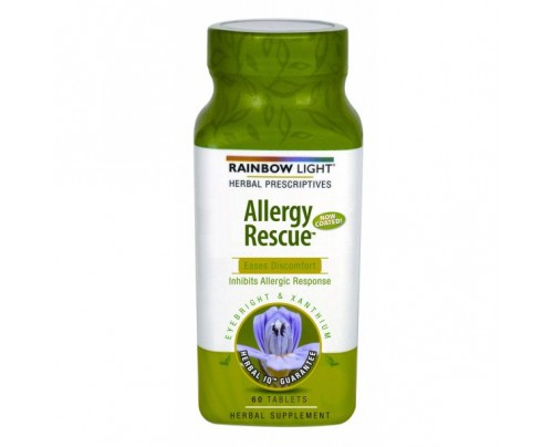 Rainbow Light Allergy Rescue Allergy Relief 60 Tablets