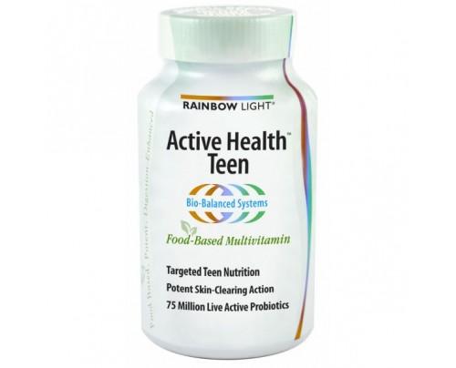 Rainbow Light Active Health Teen Multivitamin 90 Tablets