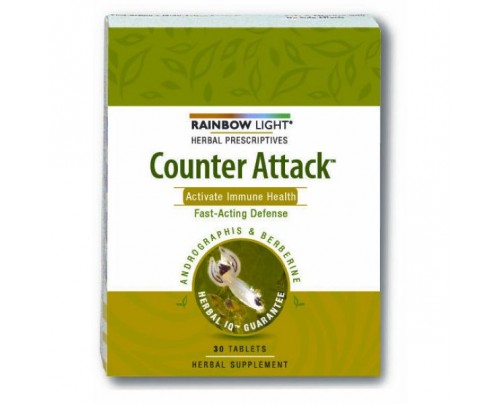 Rainbow Light Counter Attack 30 Tablets