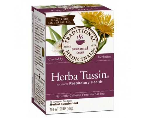 Traditional Medicinals Herba Tussin Tea 16 Teabags