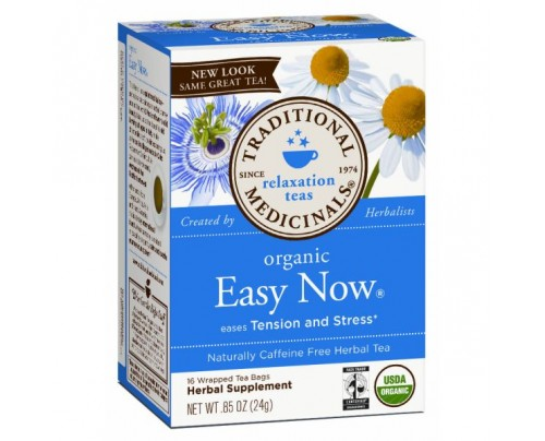 Traditional Medicinals Organic Easy Now Tea 16 Teabags