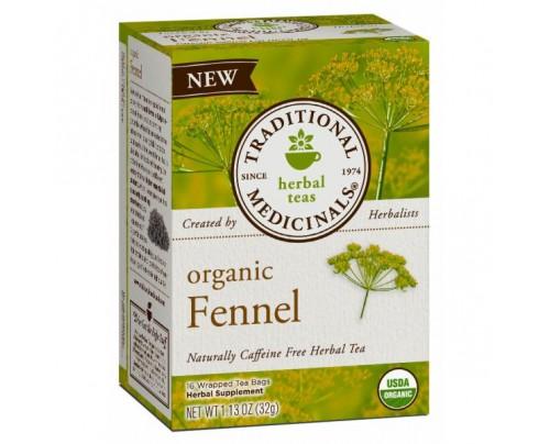 Traditional Medicinals Organic Fennel Tea 16 Teabags