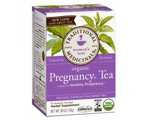 Traditional Medicinals Organic Pregnancy Tea 16 Teabags