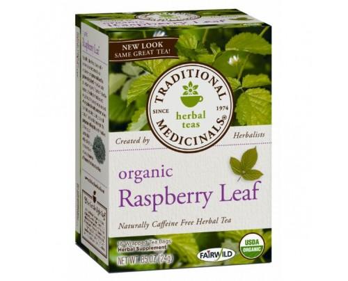 Traditional Medicinals Organic Raspberry Leaf Tea 16 Teabags