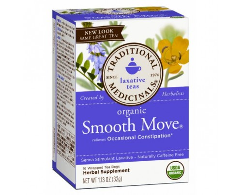 Traditional Medicinals Organic Smooth Move Tea 16 Teabags